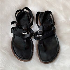 Johnston and Murphy leather sandals